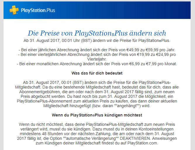 Onpsx Playstation Plus Wird Wieder Teurer Jetzt Schon 60 Pro Jahr